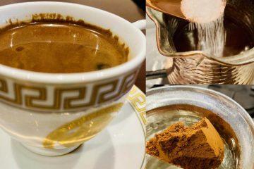 greek coffee recipe..how to make the best greek coffee