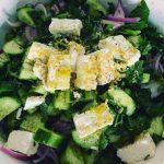 Green garden salad recipe