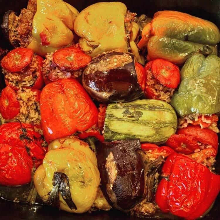 greek stuffed vegetables gemista recipe