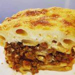 Greek pastitsio recipe (Baked pasta)