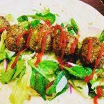 Easy falafel vegan recipe.