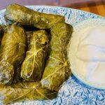 Greek dolmades recipe - Stuffed vine (grape) leaves