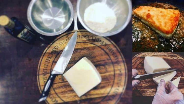 how to make traditional greek saganaki recipe