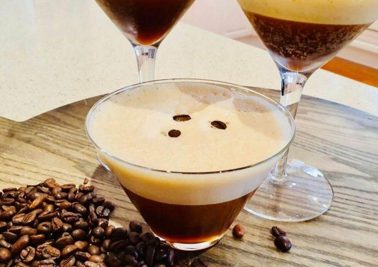 Espresso Martini cocktail recipe.